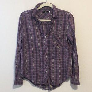 BDG Boho Button Down Shirt